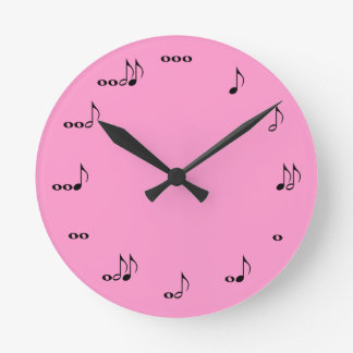 The One Of A Kind Music Note Clock