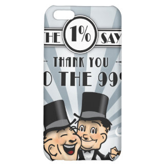 The One Percent Says Thank You iPhone 5C Case