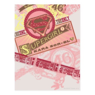 The One The Only Supergirl Postcard