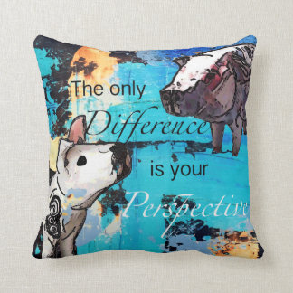 The only difference is your perspective cushion