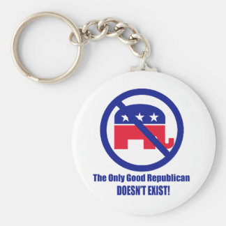 The Only Good Republican Keychain