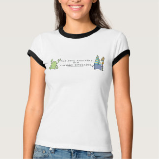 The Only Knockers R Cornish Knockers ladies Shirt