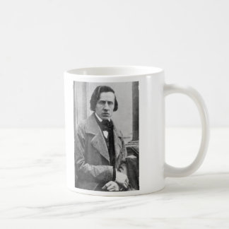 The Only Known Photograph of Frederic Chopin Coffee Mug