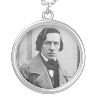 The Only Known Photograph of Frederic Chopin Custom Jewelry