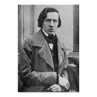 The Only Known Photograph of Frederic Chopin Poster