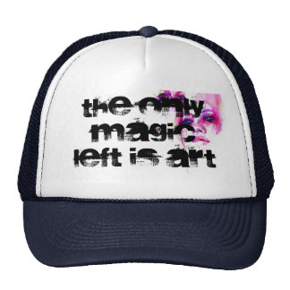 the only magic left is art cap