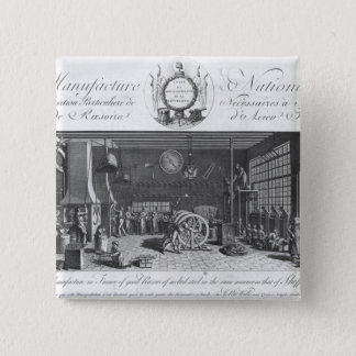 The only manufacture in France of good razors 15 Cm Square Badge