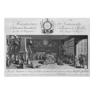 The only manufacture in France of good razors Poster