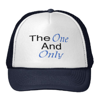 The Only One And Only (blue) Cap