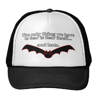 The Only Thing We Have To Fear Is Fear Itself Cap