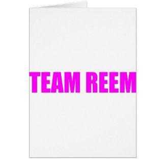 The Only Way is Essex Team Reem TOWIE Joey Greeting Card