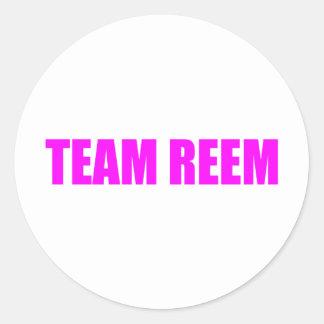 The Only Way is Essex Team Reem TOWIE Joey Round Sticker