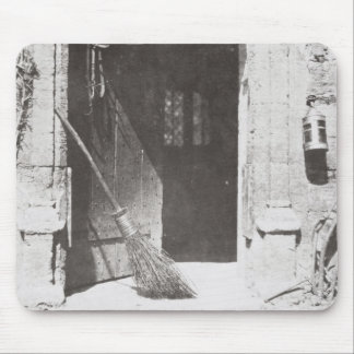 The Open Door, March, 1843 (b/w photo) Mouse Mat