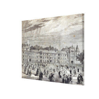 The Opening of Keble College, Oxford Canvas Print