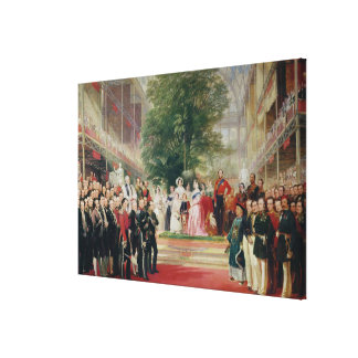 The Opening of the Great Exhibition, 1851-52 Canvas Print