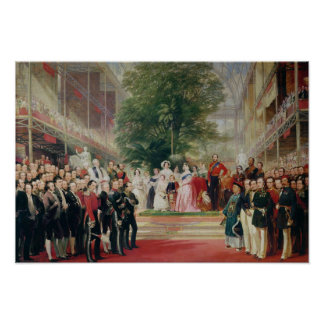 The Opening of the Great Exhibition, 1851-52 Poster