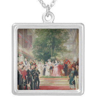 The Opening of the Great Exhibition, 1851-52 Silver Plated Necklace