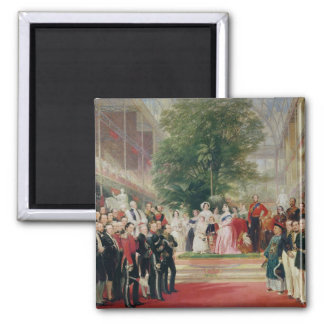 The Opening of the Great Exhibition, 1851-52 Square Magnet