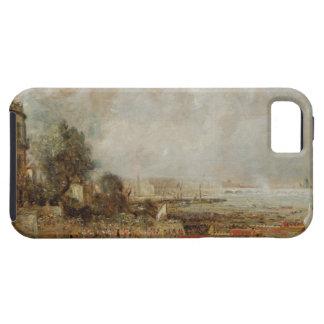 The Opening of Waterloo Bridge, c.1829-31 (oil on iPhone 5 Cases