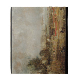 The Opening of Waterloo Bridge, c.1829-31 (oil on iPad Folio Cases