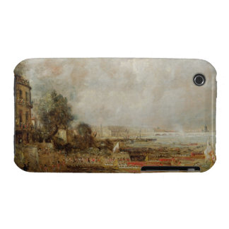 The Opening of Waterloo Bridge, c.1829-31 (oil on Case-Mate iPhone 3 Case