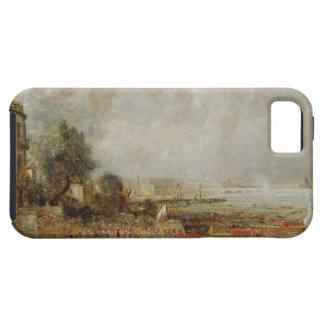 The Opening of Waterloo Bridge, c.1829-31 (oil on iPhone 5 Covers