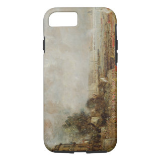 The Opening of Waterloo Bridge, c.1829-31 (oil on iPhone 7 Case