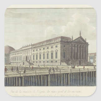 The Opera House, Berlin Square Sticker