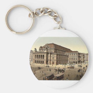 The Opera House, Vienna, Austro-Hungary magnificen Key Ring