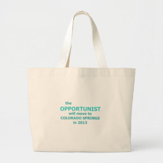 The opportunist 2 .png jumbo tote bag