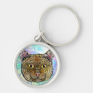 The Opportunist Silver-Colored Round Key Ring