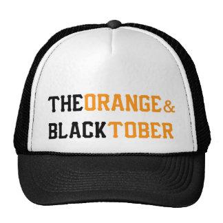 The Orange & Blacktober Trucker Hat