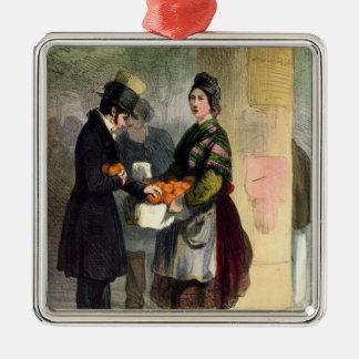 The Orange Seller, from 'Les Femmes de Paris' Christmas Ornament