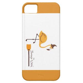 the orange witch flamingo case