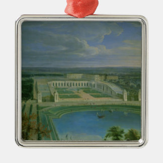The Orangery and the Chateau at Versailles, 1696 Christmas Ornament