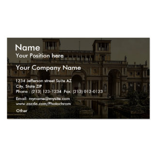 The Orangery, Potsdam, Berlin, Germany magnificent Business Card