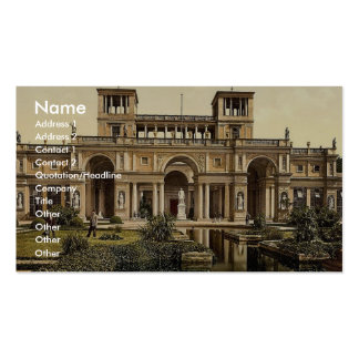 The Orangery, Potsdam, Berlin, Germany magnificent Business Card Template