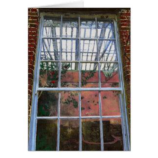 The orangery window 2012 greeting card