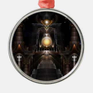 The Orb Of Acrellis Fractal Art Premium Ornament
