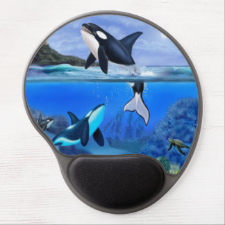 The Orca Family Gel Mouse Mat