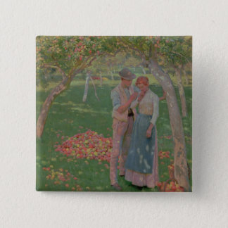 The Orchard 15 Cm Square Badge