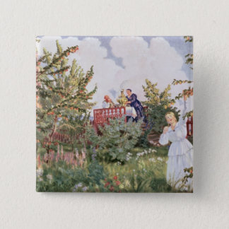 The Orchard, 1918 15 Cm Square Badge