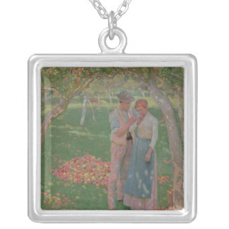The Orchard Silver Plated Necklace