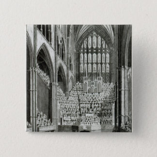The Orchestra and Performers in Westminster 15 Cm Square Badge