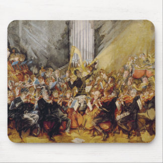 The Orchestra Painting Mouse Pad