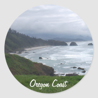The Oregon Coast Classic Round Sticker