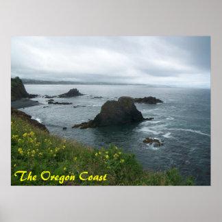 The Oregon Coast Poster