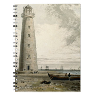 The Orford Nefs Lighthouses, Suffolk, from Volume Spiral Notebook