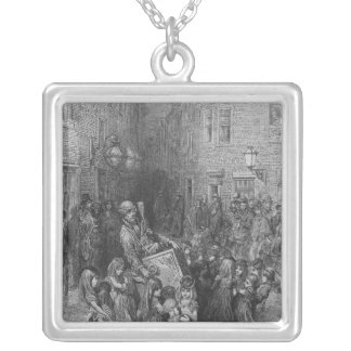 The Organ in the Court Silver Plated Necklace