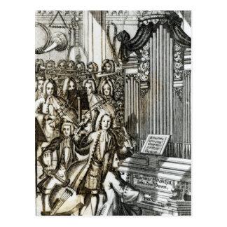 The Organ Recital Post Card